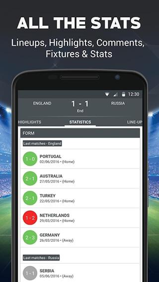 Live Football скриншот 4