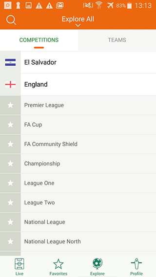 Futbol24 скриншот 3