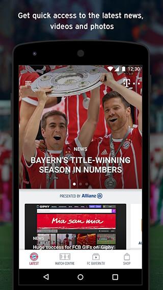 FC Bayern Munich скриншот 1