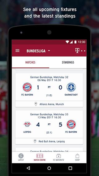 FC Bayern Munich скриншот 2