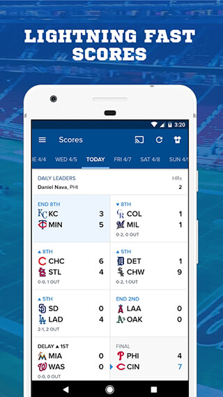 CBS Sports App: Scores, News, Stats and Watch Live скриншот 3