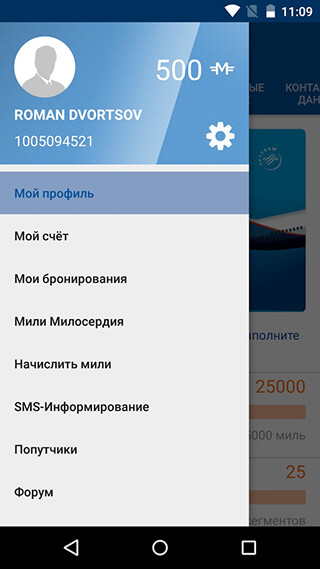 Aeroflot скриншот 3