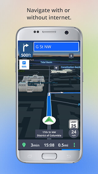 Offline Maps and Navigation скриншот 2