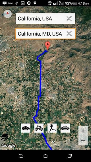 GPS Map Free скриншот 4