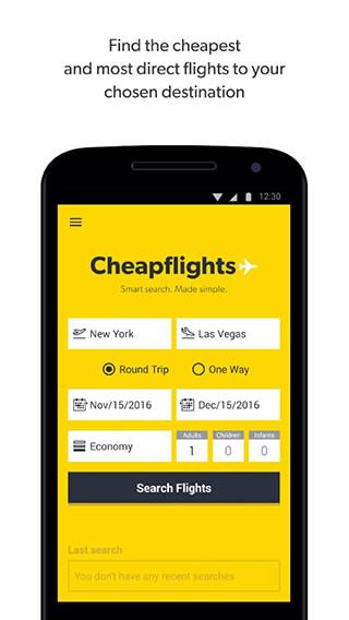 Cheapflights: Flight Search скриншот 1