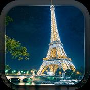 The Eiffel Tower in Paris иконка