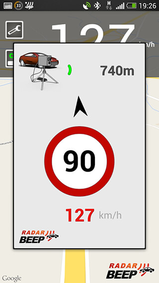 Radar Beep: Radar Detector скриншот 1