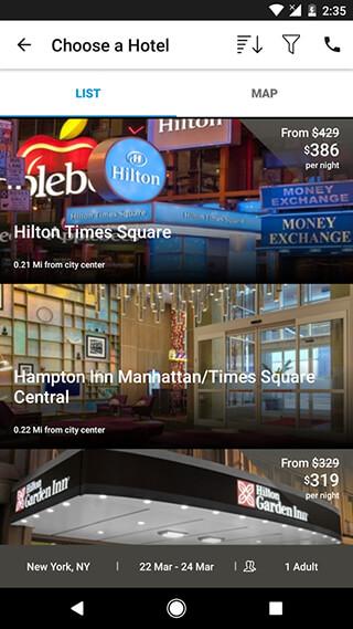 Hilton Honors скриншот 3
