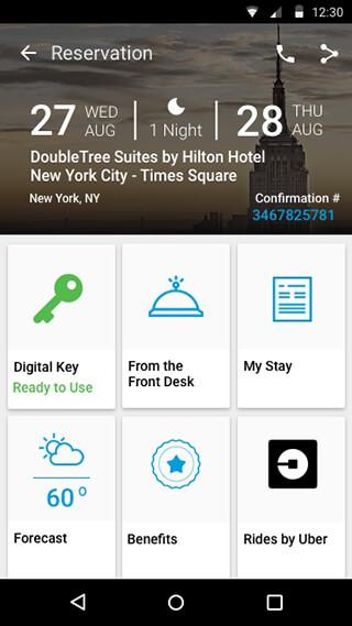 Hilton Honors скриншот 4