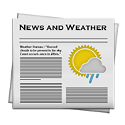 News and Weather иконка