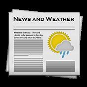 News and Weather иконка