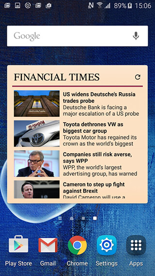 Financial Times скриншот 2