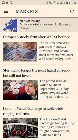 Financial Times скриншот 4