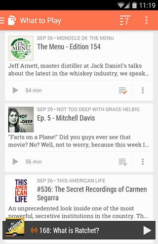 BeyondPod Podcast Manager скриншот 3