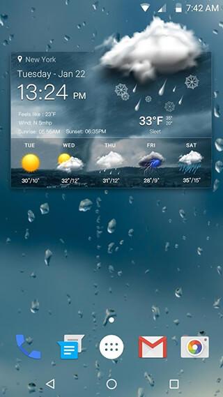 Live WeatherandLocal Weather скриншот 1