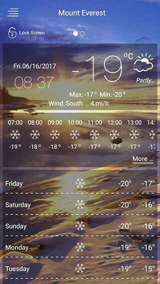 Weather Forecast скриншот 3