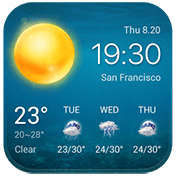 Local Weather Widget and Forecast иконка