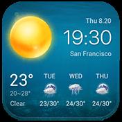 Local Weather Widget and Forecast иконка