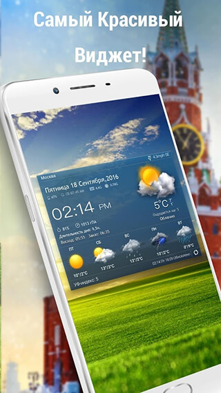Local Weather Widget and Forecast скриншот 1