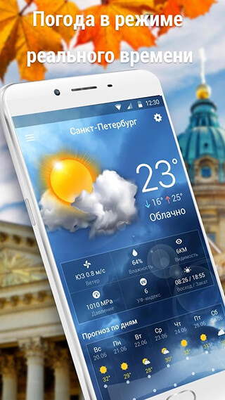 Local Weather Widget and Forecast скриншот 2