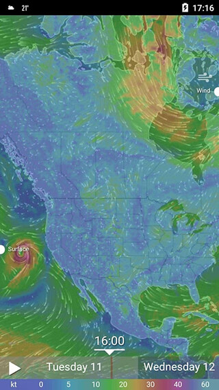 Amber Weather and Radar Free скриншот 3