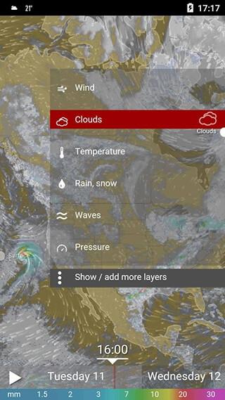 Amber Weather and Radar Free скриншот 4