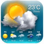 Weather Updates and Temperature Report иконка