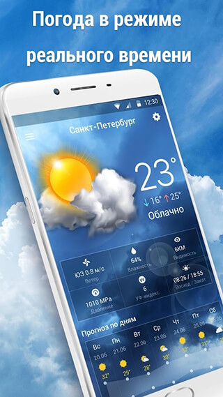 Weather Updates and Temperature Report скриншот 2