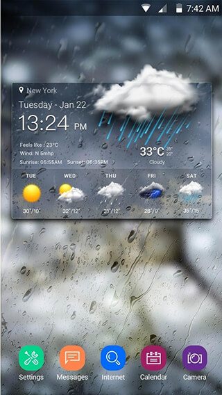 Real-time Weather Forecasts скриншот 1