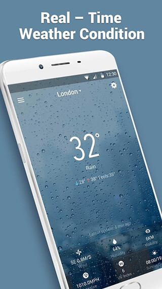 Real-time Weather Forecasts скриншот 3