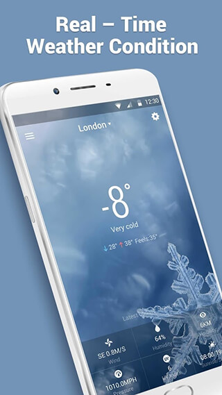 Real-time Weather Forecasts скриншот 4