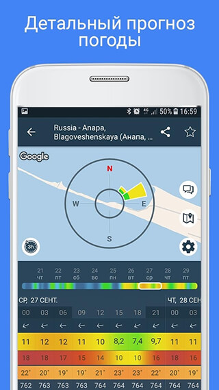 WINDY: Wind Forecast and Marine Weather for Sailing скриншот 4