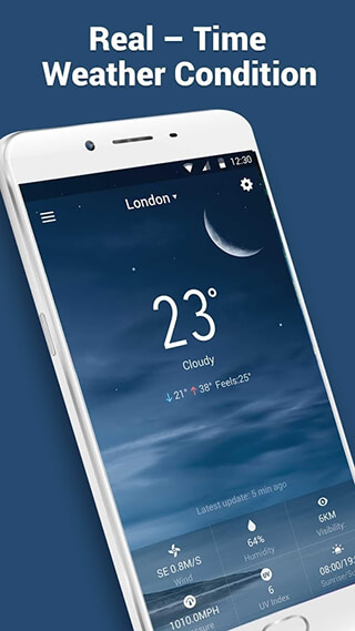 Weather Air Pressure App and World Weather Report скриншот 3