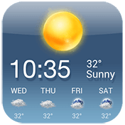 OS Style Daily Live Weather Forecast иконка