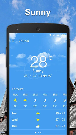 Simple Weather Forecast скриншот 1