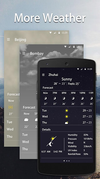 Simple Weather Forecast скриншот 4