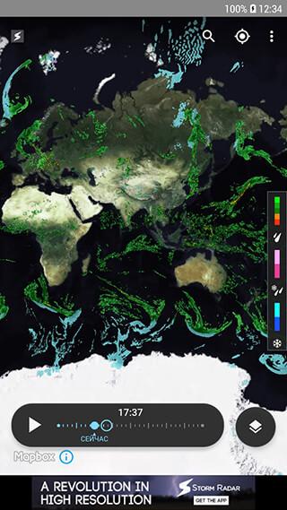 Storm Radar: Hurricane Tracker-Severe Weather Alert скриншот 2