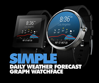 InstaWeather for Android Wear скриншот 3
