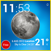 Weather and Animated Widgets иконка