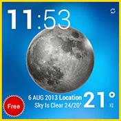 Weather and Animated Widgets иконка