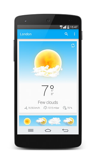 Weather and Animated Widgets скриншот 1