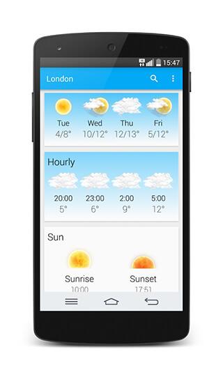 Weather and Animated Widgets скриншот 3