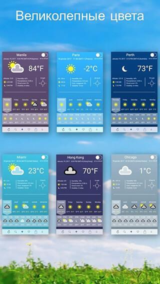 Weather 2 Weeks скриншот 3