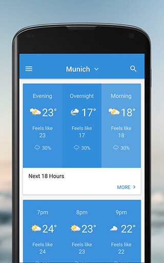 The Weather Network скриншот 2