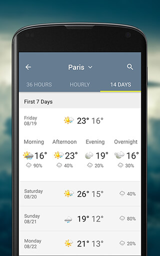 The Weather Network скриншот 3