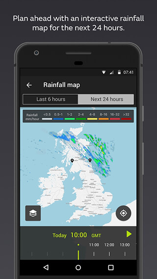 Met Office Weather Forecast скриншот 3