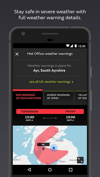 Met Office Weather Forecast скриншот 4