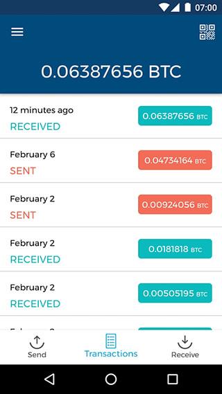 Bitcoin Wallet скриншот 2