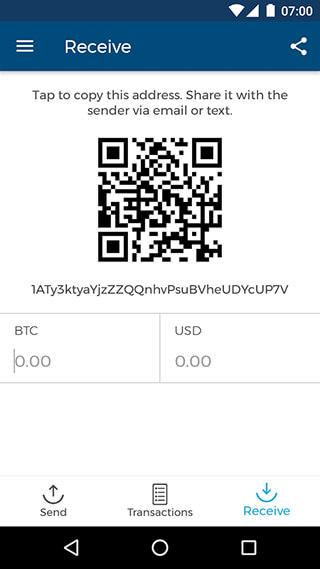 Bitcoin Wallet скриншот 3