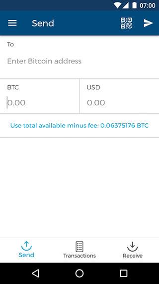 Bitcoin Wallet скриншот 4